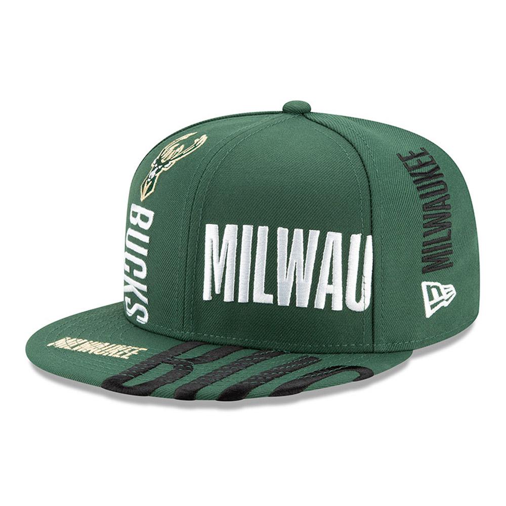 Gorra Milwaukee Bucks Tip Off 59FIFTY, verde