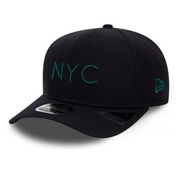 Gorra New Era NYC Stretch Snap 9FIFTY, azul marino