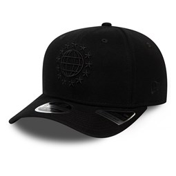 Gorra New Era University Stretch Snap 9FIFTY, negro