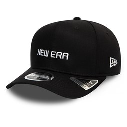 New Era Essential Black Stretch Snap 9FIFTY Cap