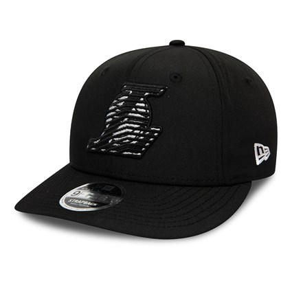 Los Angeles Lakers Monotape Black 9FIFTY Cap