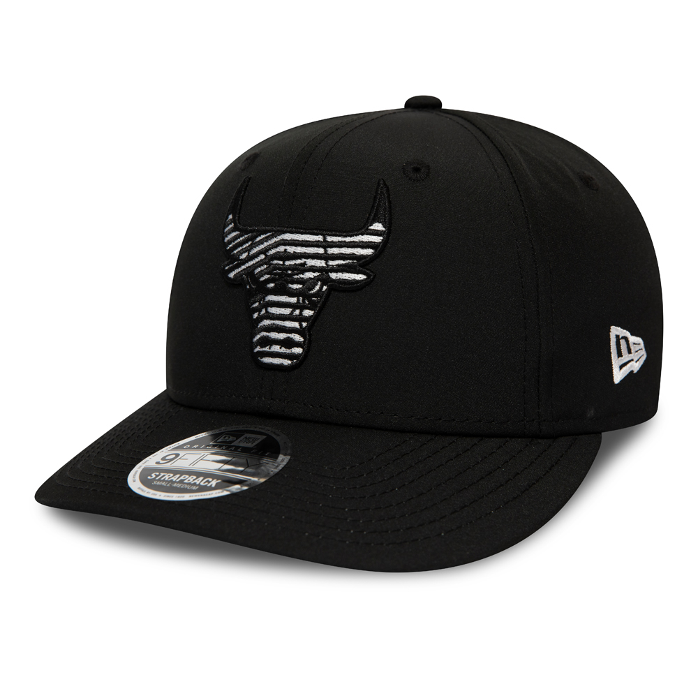 Chicago Bulls Monotape Black 9FIFTY Cap