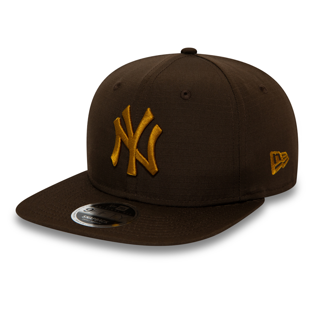Casquette 9FIFTY fonctionnelle marron des Yankees de New York