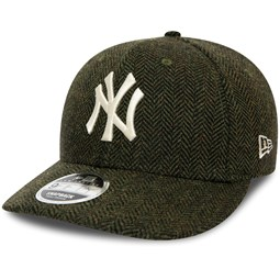 Gorra New York Yankees 9FIFTY de bajo perfil de tweed, verde