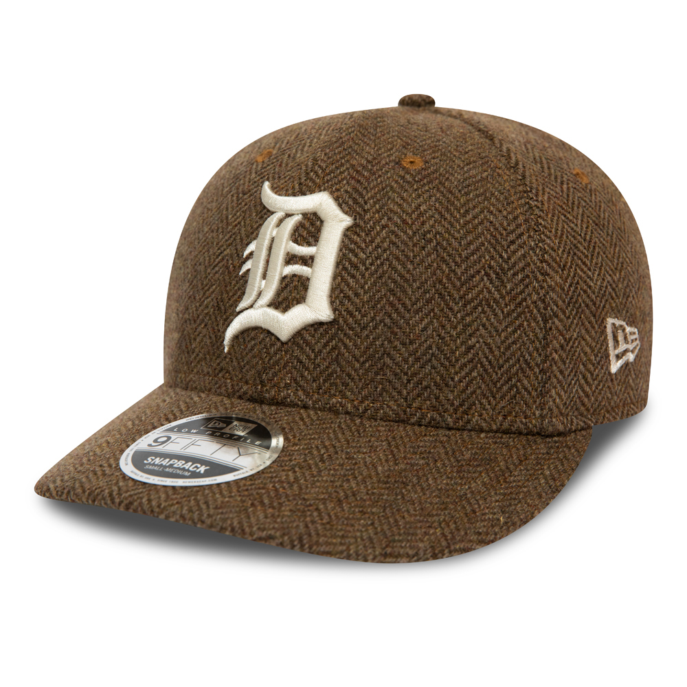 Detroit Tigers Brown Tweed Low Profile 9FIFTY Cap