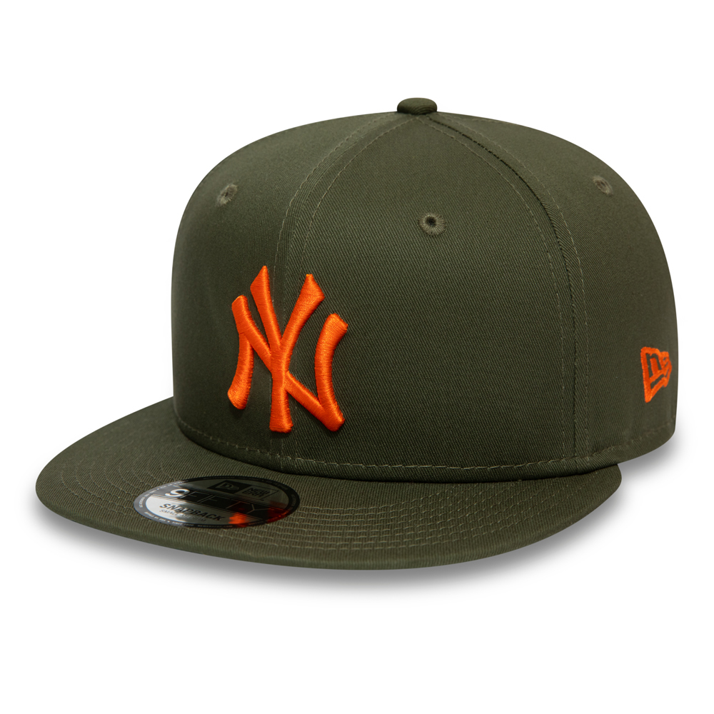 Casquette 9FIFTY des New York Yankees Essential verte