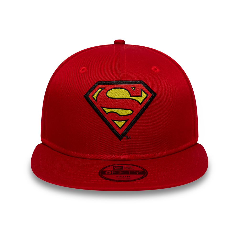 Superman Character Kids Red 9FIFTY Cap
