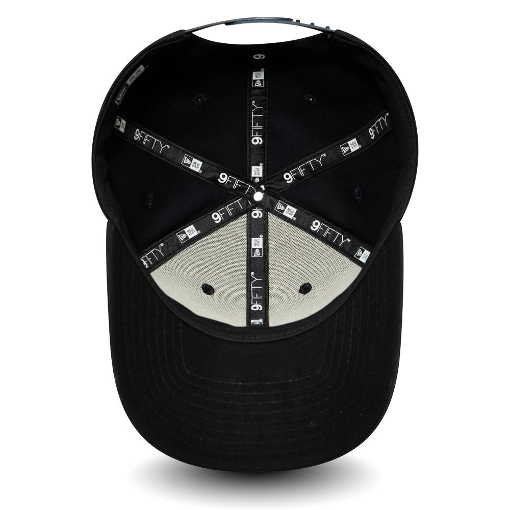 Casquette 9FIFTY extensible noire avec languette de réglage crantée de Tottenham Hotspur FC
