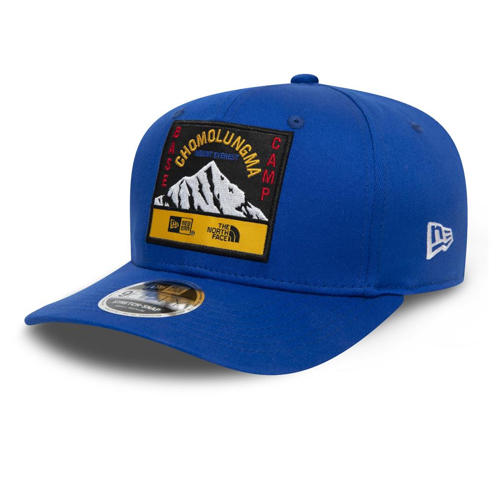 NEW ERA – The North Face – 9FIFTY in Blau mit Clipverschluss – Stretch