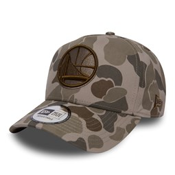 Golden State Warriors 9FORTY-A-Frame-Kappe in Camouflage