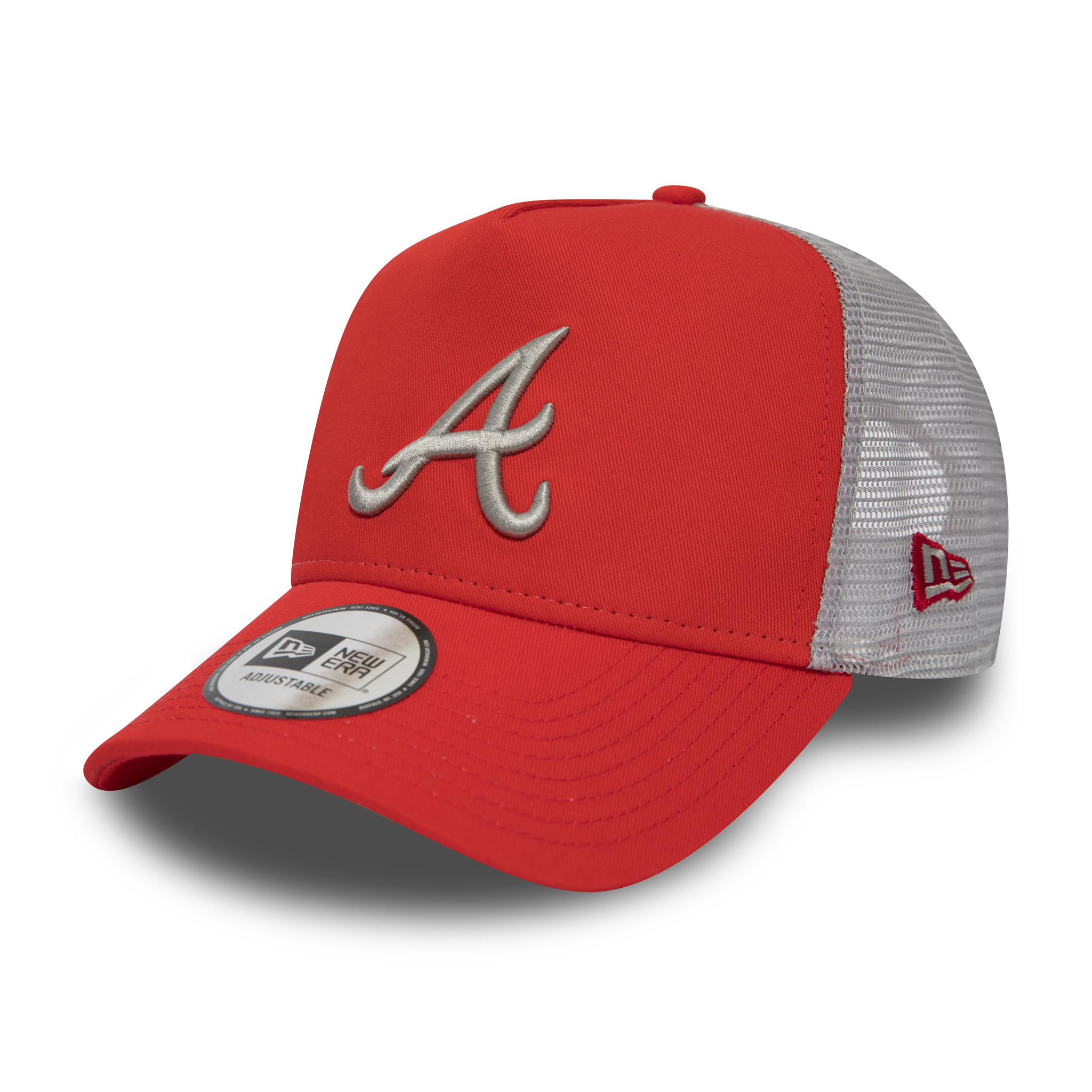 Atlanta Braves Essential Red A-Frame Trucker