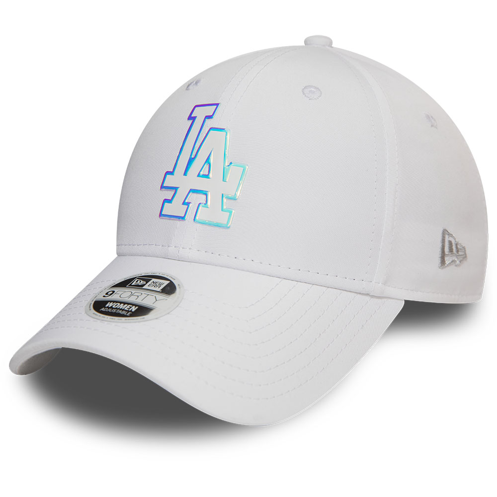 Los Angeles Dodgers Womens White 9FORTY Cap