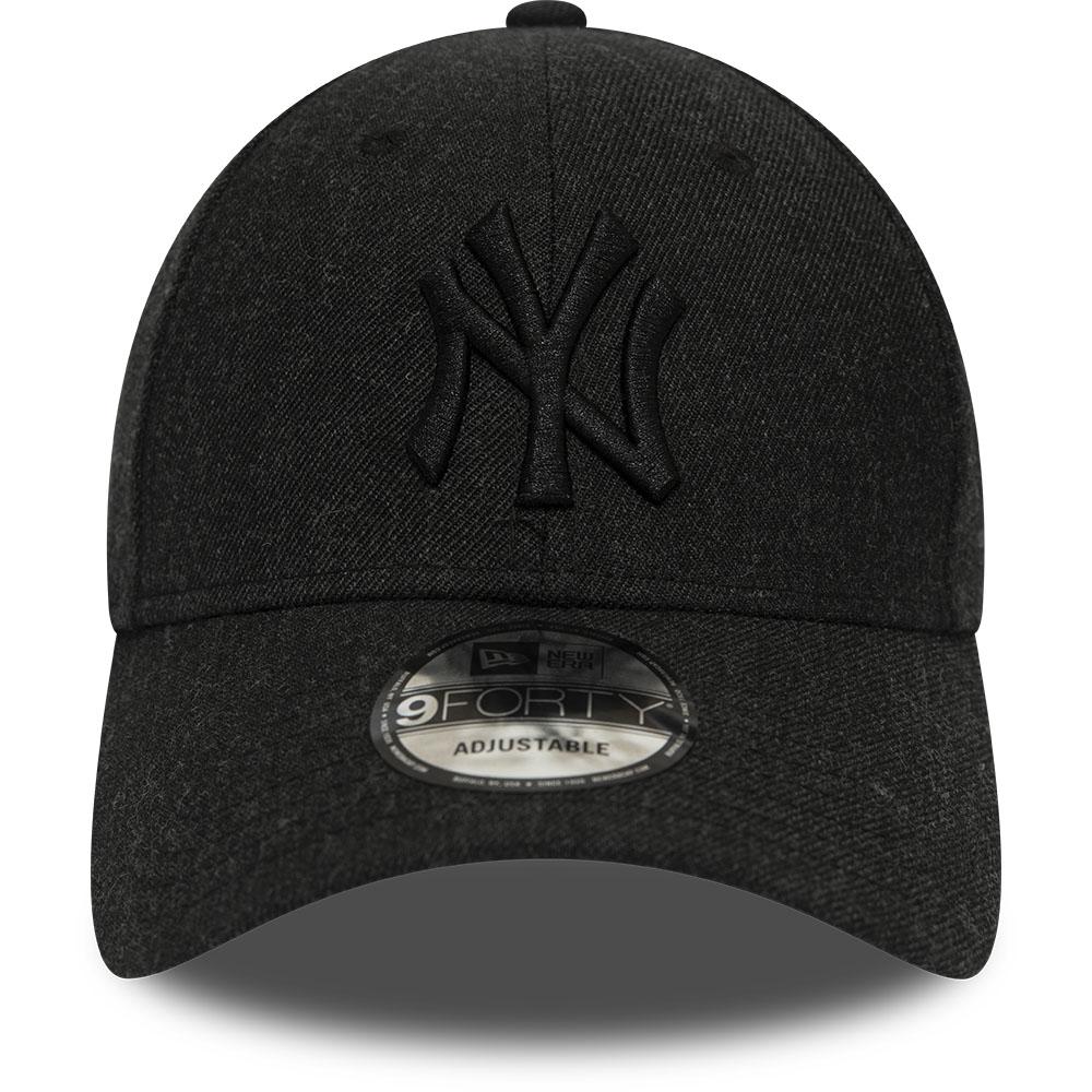 New Era 9Forty Cap WINTERIZED LEAGUE NY Yankees schwarz