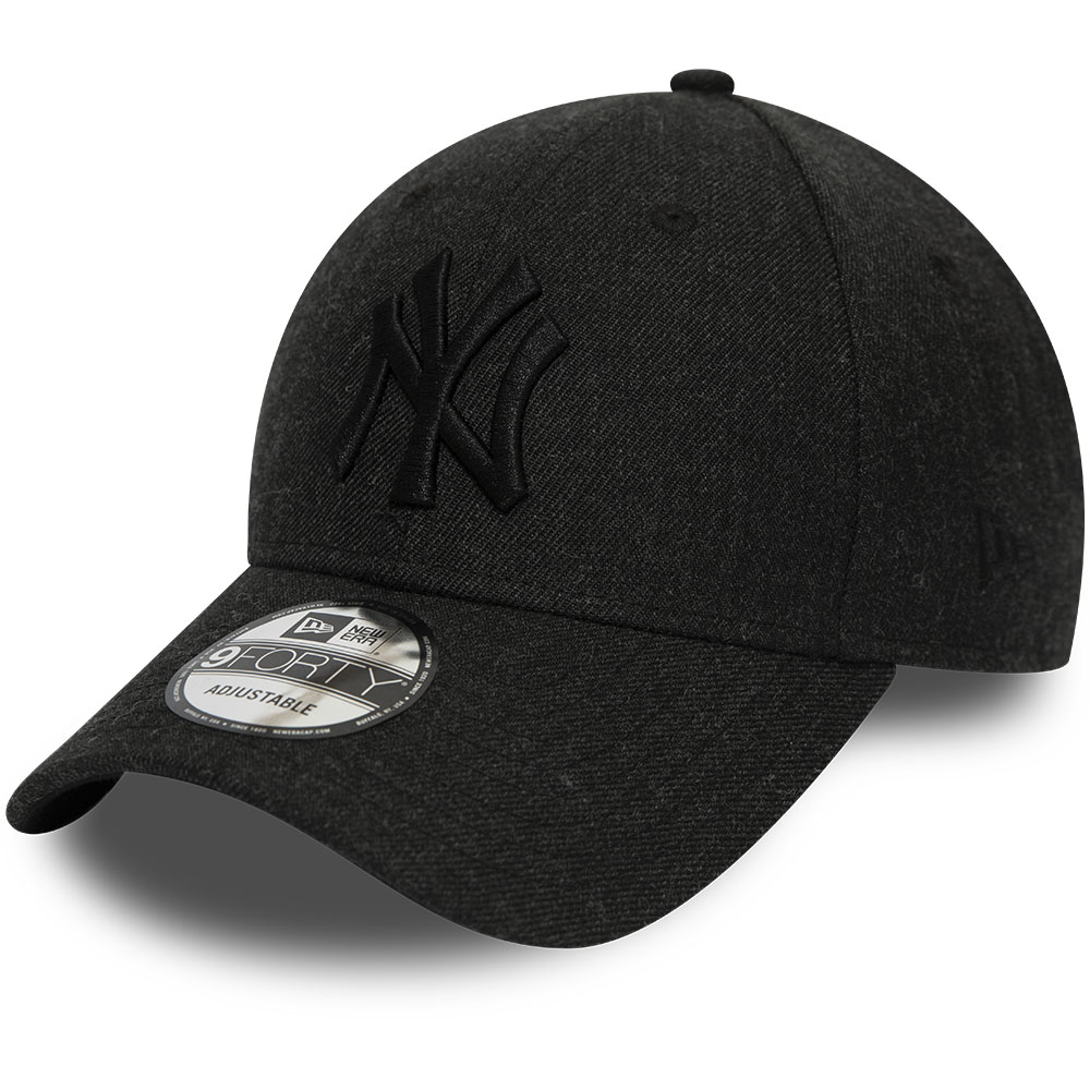 Schwarze 9FORTY-Kappe – Winterised League – New York Yankees