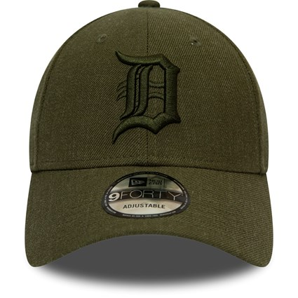 Detroit Tigers Winterised League Olive 9FORTY Cap