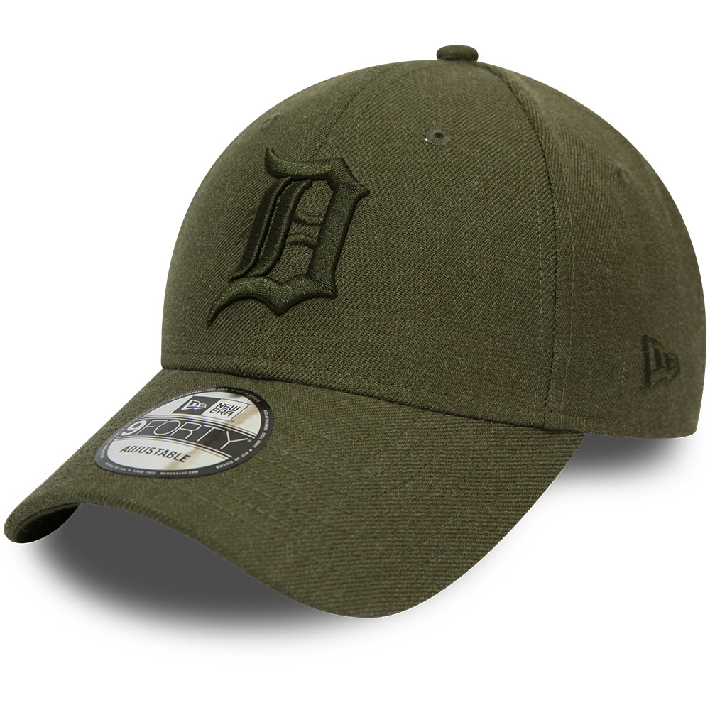 Casquette 9FORTY Winterised League vert olive des Tigers de Détroit
