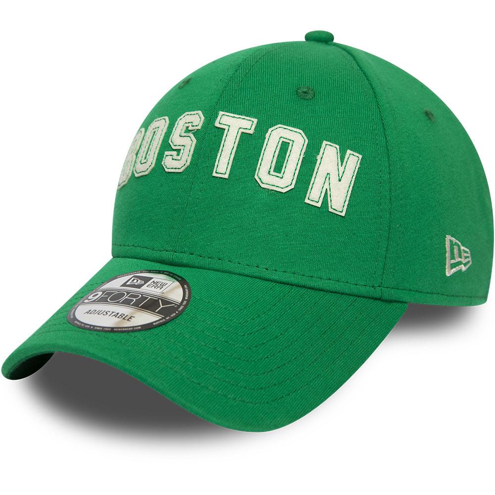 Gorra Boston Celtics Felt Script 9FORTY, verde