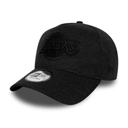 Los Angeles Lakers Tonal Black Essential A Frame Cap