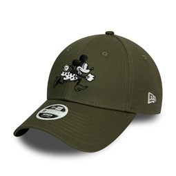 Gorra Minnie Mouse Disney 9FORTY, mujer, verde