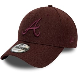 Cappellino 9FORTY Winterised League degli Atlanta Braves bordeaux