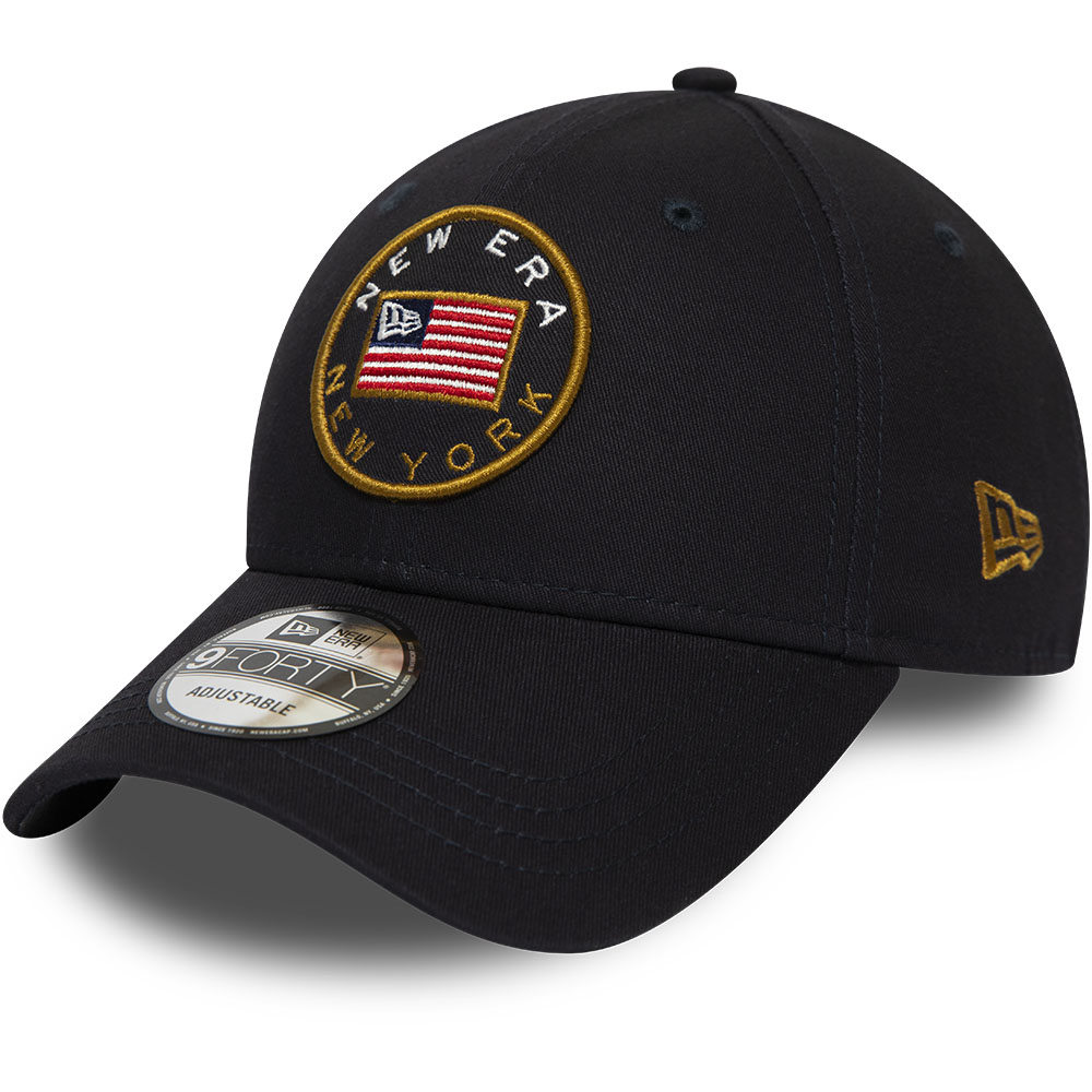 New Era USA Flagged Navy 9FORTY Cap