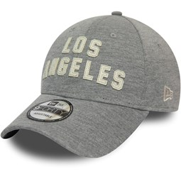 Los Angeles Lakers Felt Script Grey 9FORTY Cap
