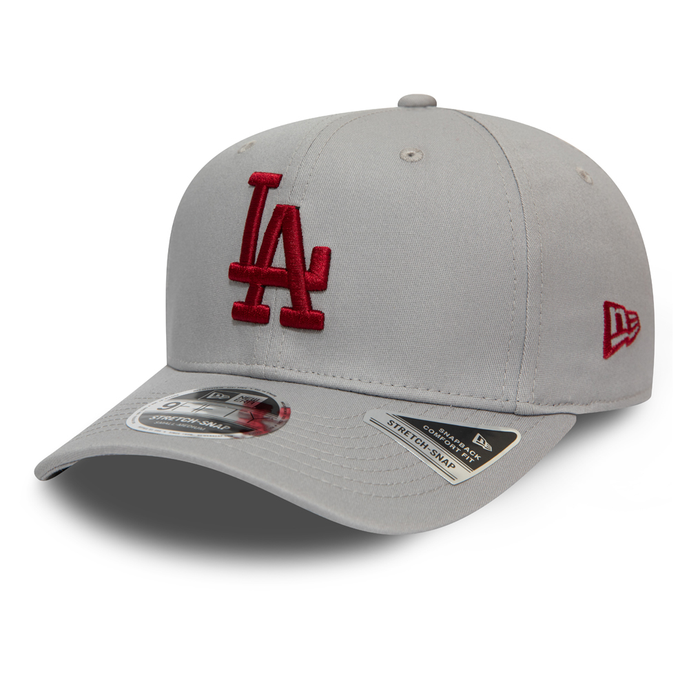 Los Angeles Dodgers Stretch Snapback Grey 9FIFTY Cap