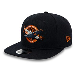 Schwarze 9FIFTY-Kappe aus Wolle –  Vintage – Lakeland Tigers