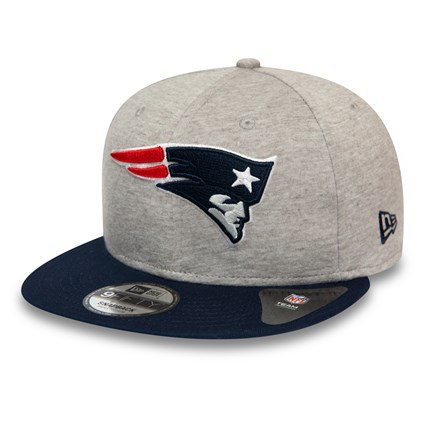 New England Patriots Essential Grey Jersey 9FIFTY Cap