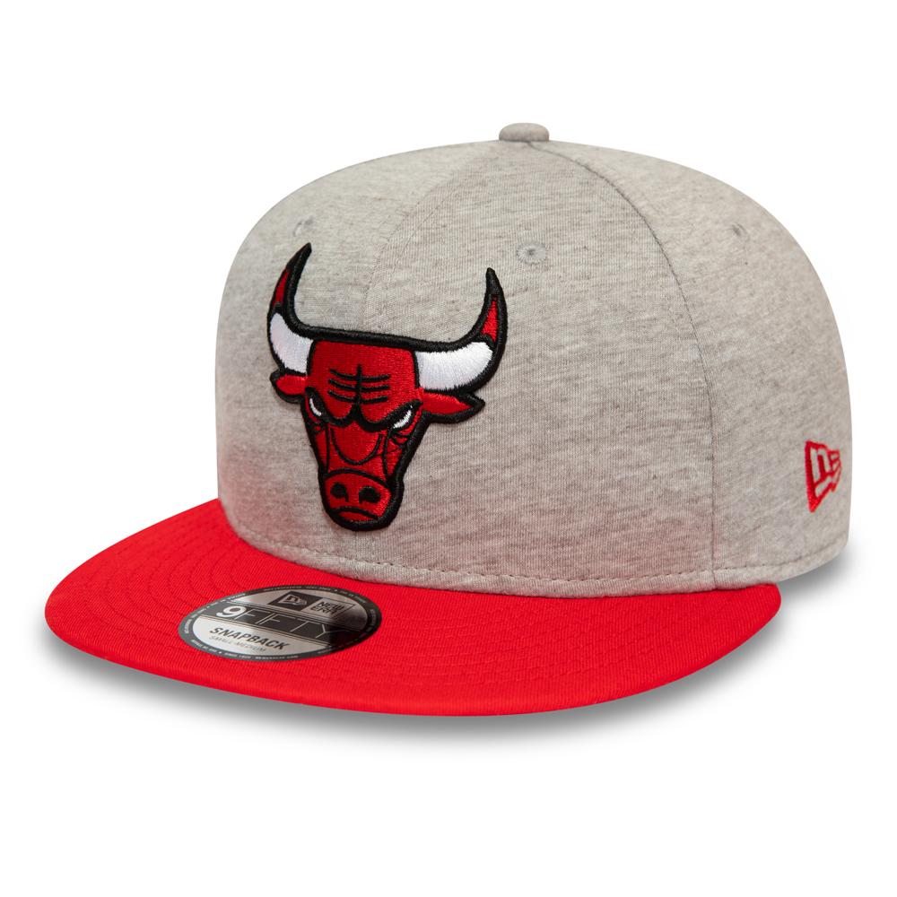 Gorra Chicago Bulls Essential Jersey 9FIFTY, gris