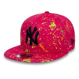 Rosa 9FIFTY-Kinderkappe der New York Yankees
