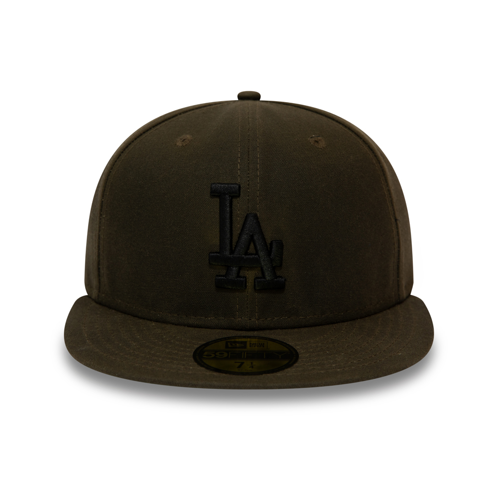 Casquette 59FIFTY fonctionnelle kaki des Dodgers de Los Angeles