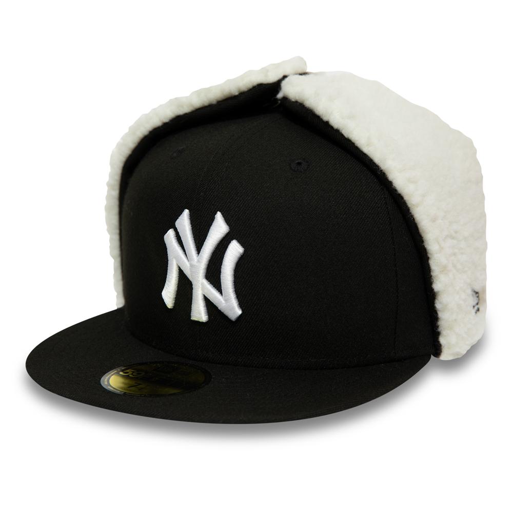 Schwarze 59FIFTY-Kappe – New York Yankees League Essential Dog Ear