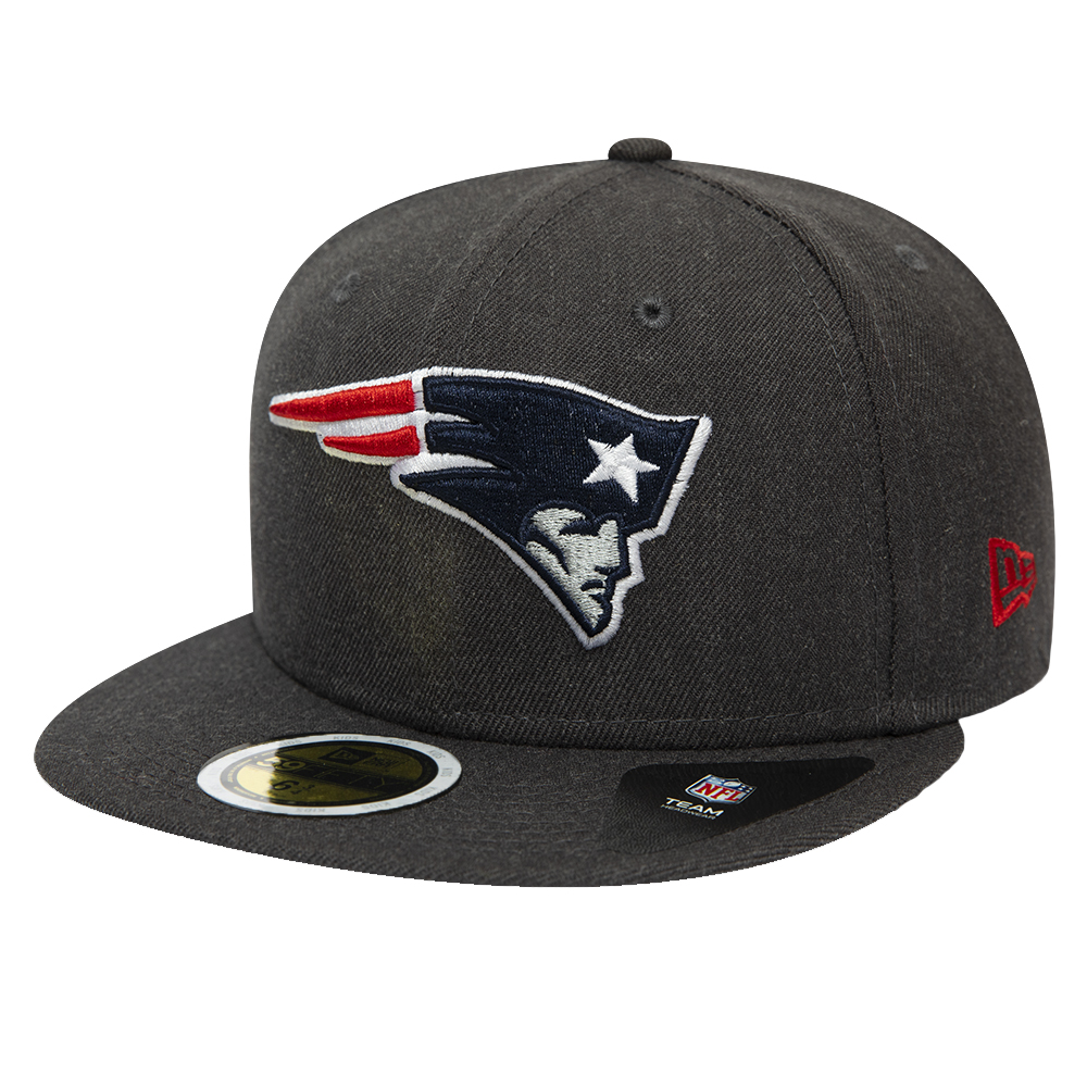 Cappellino 59FIFTY Essential New England Patriots bambino grigio mélange