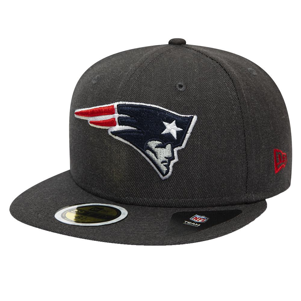 Casquette 59FIFTY New England Patriots gris chiné pour enfant