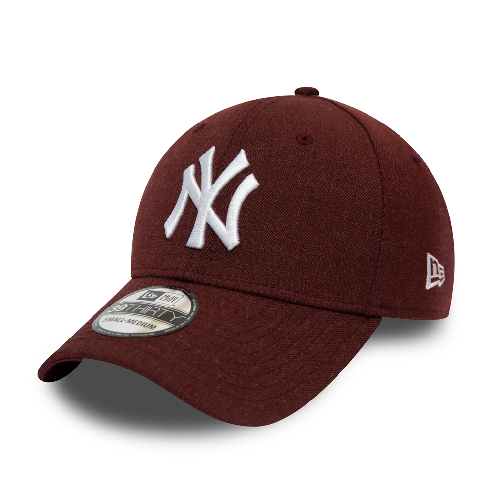 New York Yankees Essential Maroon 39THIRTY Cap