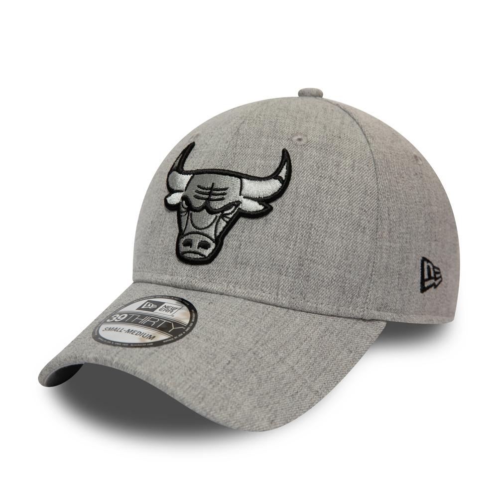 Gorra Chicago Bulls Essential 39THIRTY, gris heather