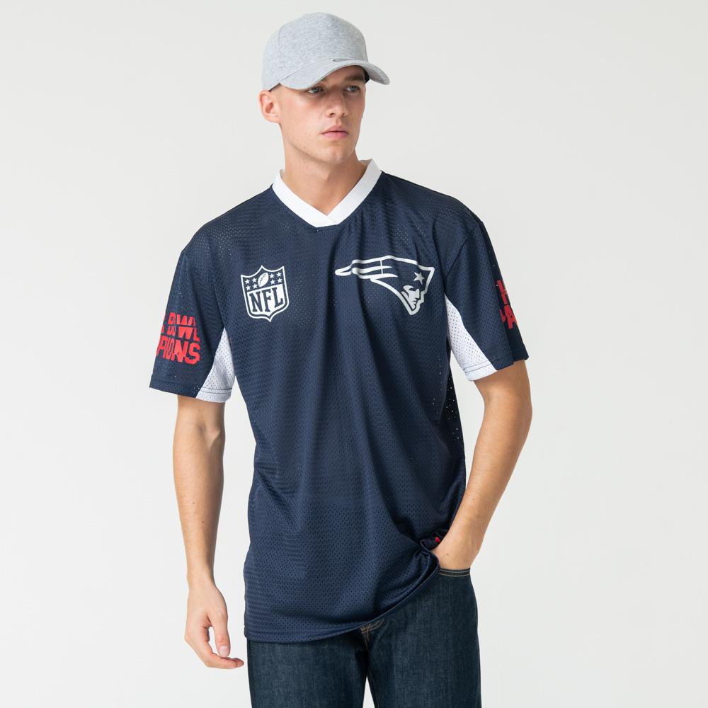 T-shirt oversize New England Patriots bleu marine