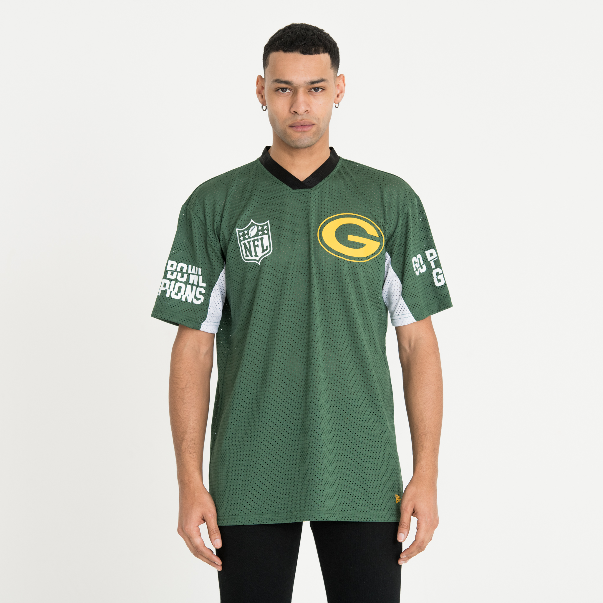 Camiseta Green Bay Packers Oversized, verde