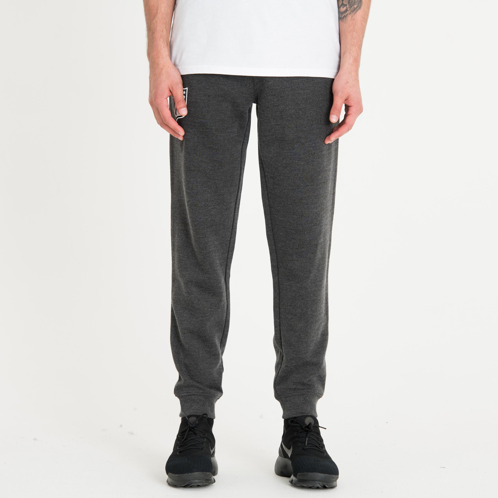 Pantalon de jogging gris avec logo de la NFL