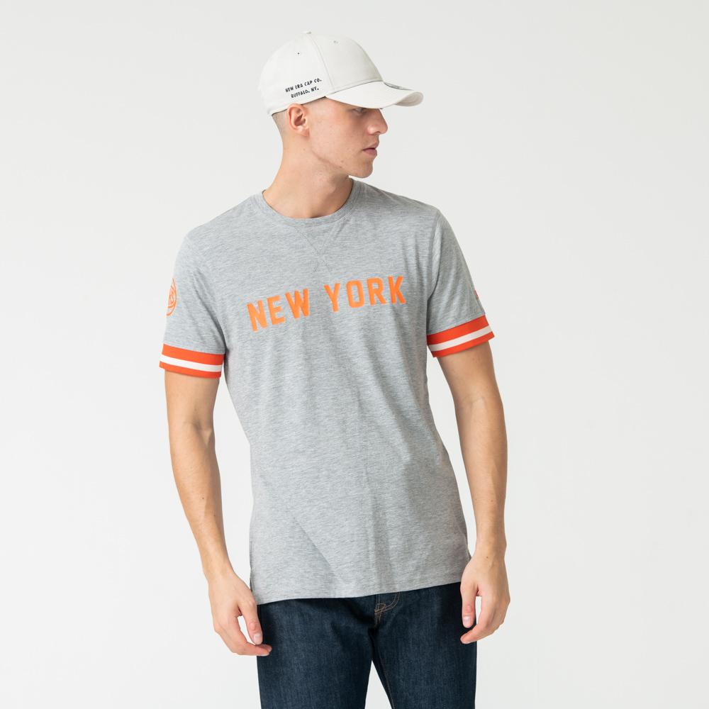 T-shirt New York Knicks gris