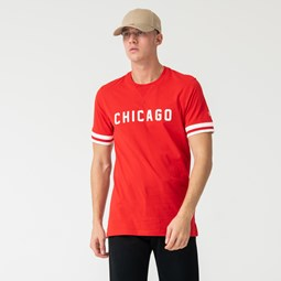 Camiseta Chicago Bulls Wordmark, rojo