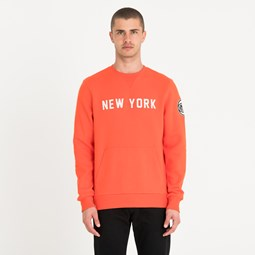 New York Knicks Orange Crew Neck
