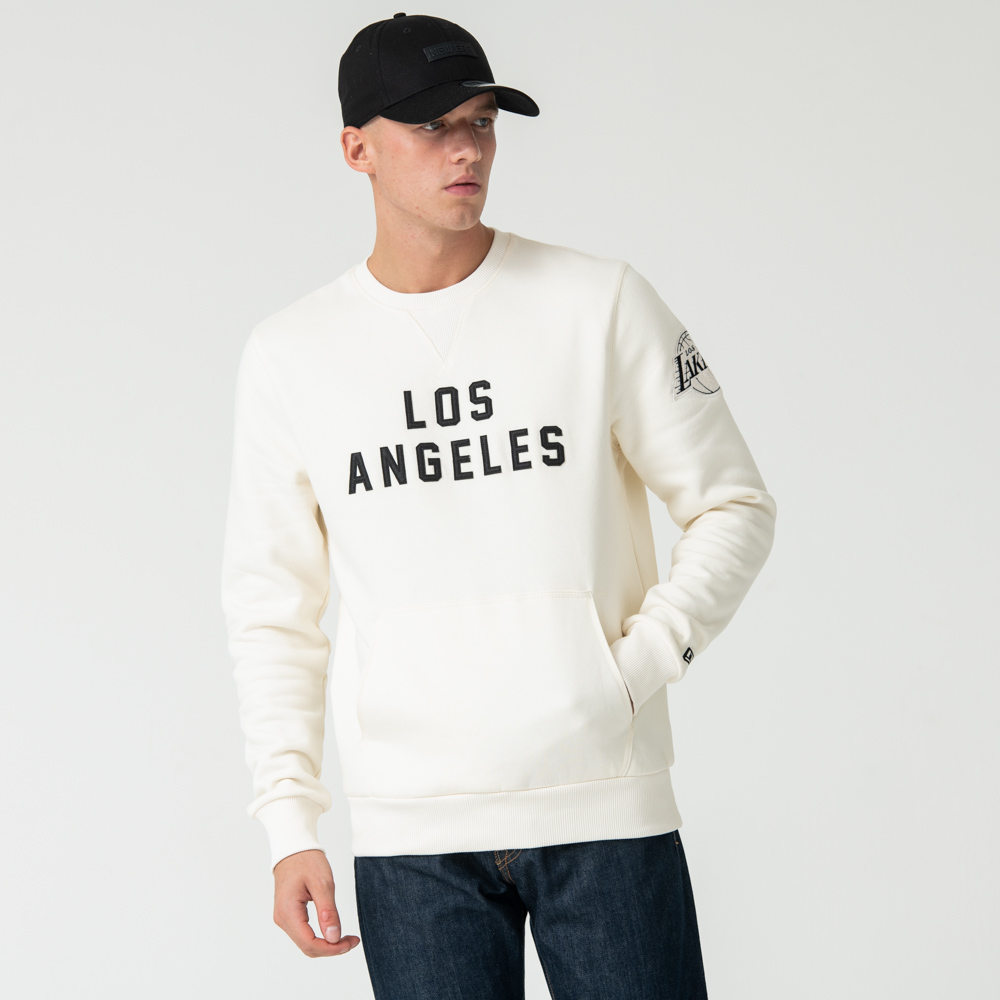 Los Angeles Lakers Crew Neck, blanco