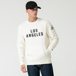 Sweat ras du cou Los Angeles Lakers blanc