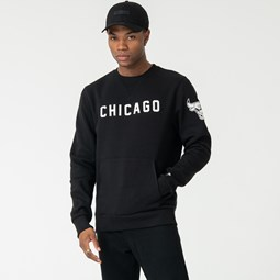 Chicago Bulls Black Crew Neck