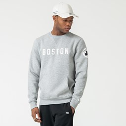Boston Celtics Grey Crew Neck