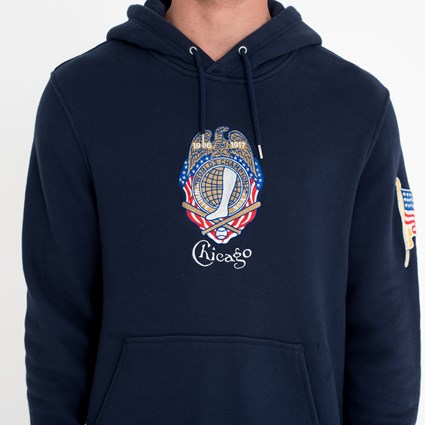 Chicago White Sox Heritage Blue Hoodie