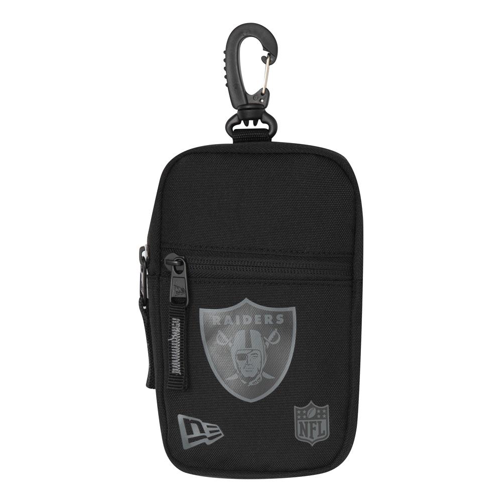Mini bolsillo Oakland Raiders, negro