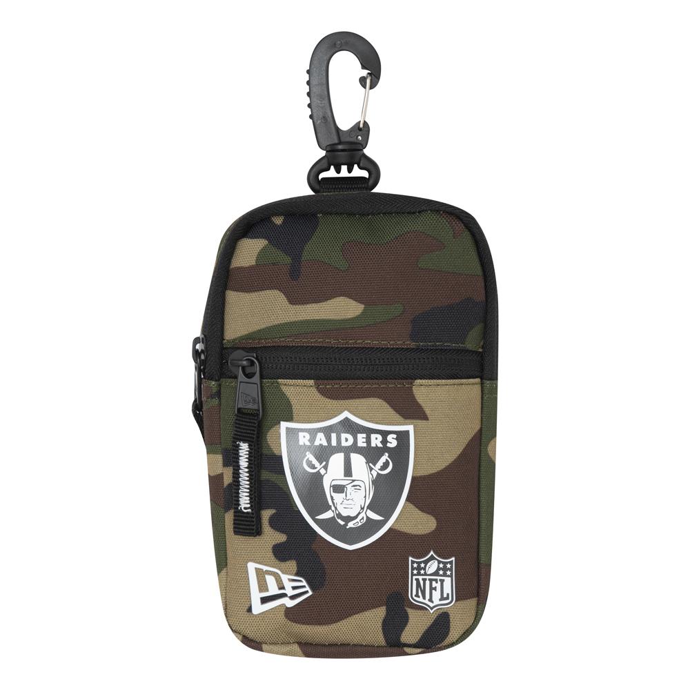 Mini pochette camouflage des Raiders d'Oakland